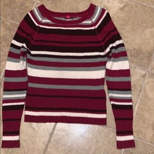 Vince Camuto Striped Sweater Size XS